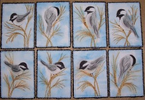 Chickadee ACEOs for Sale