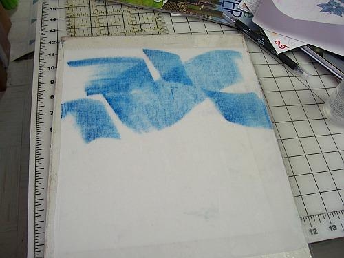 Adding Sea Blue