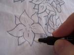 Blender Pen with Inktense Pencil