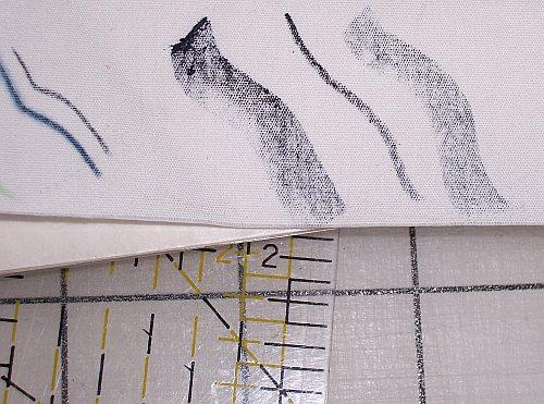 Inktense Blocks Sample Marks
