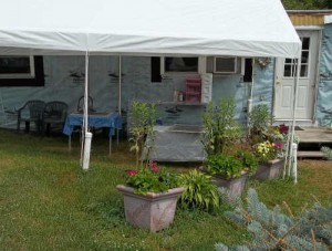 Outdoor Paint Studio Tent
