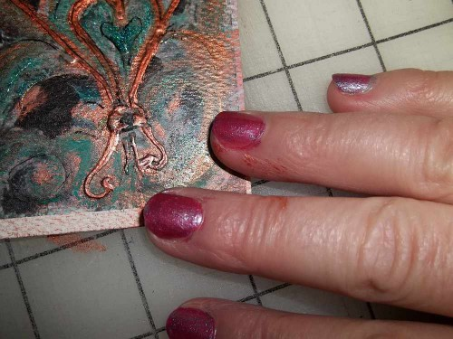 Ahhh, the Nails got painted again... So did the fingers.