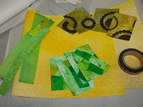 Kiwi Art Card Materials