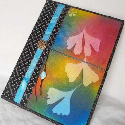 Bright Ginkgo Composition Book