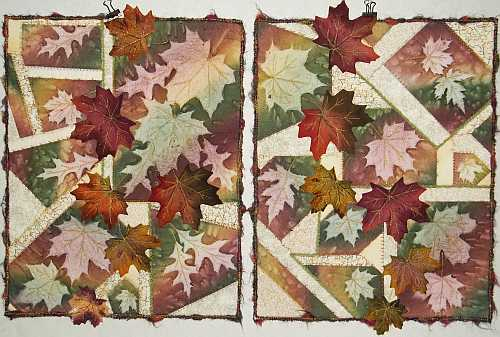 "Scattered Fall Leaves 1 and 2- 16""x20""- Reg. $95.00, Sale- $66.50 each plus shipping"