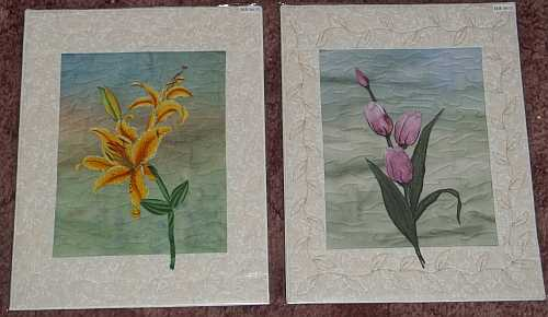 Left- Yellow Lily, Right- Painted Tulips- 11″x14″- Reg $60.00, Sale- $42.00 Each, plus shipping