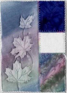 "Triple Maples with Blue 5""x7""- Reg. $25.00, Now $17.50 plus shipping."