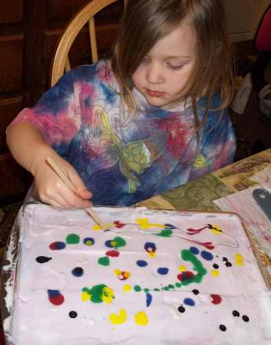 Jenna Swirling Paint